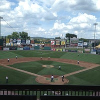Photo taken at PeoplesBank Park by Kimberly on 7/7/2013