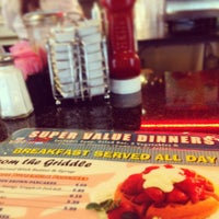 Photo taken at Route 61 Diner by Stephanie Zinn S. on 3/30/2014