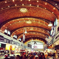 Photo taken at West Side Market by Jonathan R. on 10/13/2012