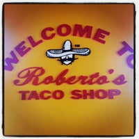 Photo taken at Roberto's Taco Shop by Timm B. on 7/18/2013