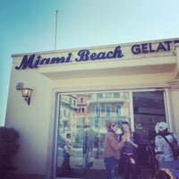 Photo taken at Gelateria Miami Beach by Michal W. on 4/21/2014