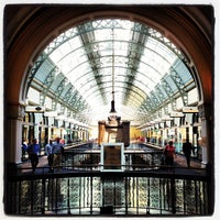 Photo taken at Queen Victoria Building (QVB) by John David O. on 10/25/2012