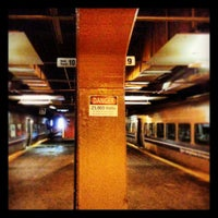 Photo taken at Gare Centrale by Gregory B. on 3/19/2013