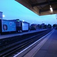 Photo taken at Kingston Railway Station (KNG) by Jon W. on 5/7/2013