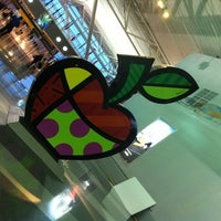 Photo taken at Terminal 8 by Julie B. on 10/9/2012
