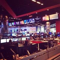 Photo taken at CNN Newsroom by ruslan on 3/10/2014