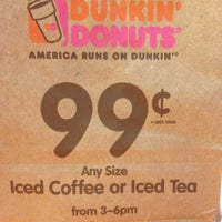 Photo taken at Dunkin' Donuts by Allyn on 6/29/2013