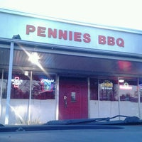 Photo taken at Pennie's BBQ by Ashley T. on 2/24/2013