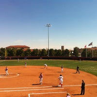 Photo taken at TTU - Rocky Johnson Field by Elvis M. on 3/8/2013