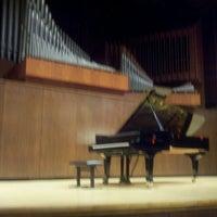 Photo taken at Paul Recital Hall at Juilliard by Jon C. on 2/14/2013