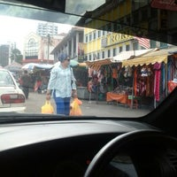 Photo taken at Pasar Chowkit by Emy S. on 10/6/2013