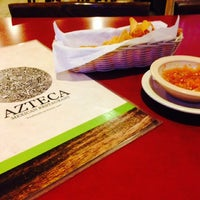 Photo taken at El Azteca Mexican Restaurant by Erin on 10/21/2014