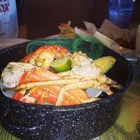 Photo taken at Joe's Crab Shack by Donald on 5/2/2013