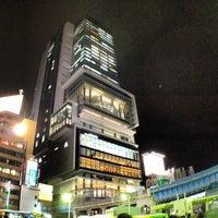 Photo taken at Shibuya Hikarie by prototechno on 1/15/2013