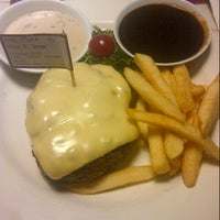 Photo taken at SteakHotel by Holycow! by Tiara A. on 12/5/2012