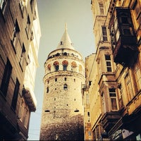 Photo taken at Galata Tower by Emrah E. on 10/16/2013