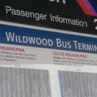 Photo taken at Wildwood bus terminal by Danielle G. on 1/1/2013