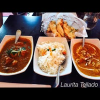 Photo taken at Saffron Indian Cuisine by Laura T. on 8/5/2015