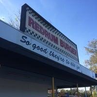 Photo taken at Redrum Burger by Joel W. on 11/3/2014