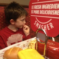 Photo taken at Smashburger by Joel W. on 12/27/2012