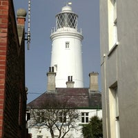 Photo taken at Southwold Lighthouse by Andrew F. on 4/7/2013