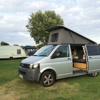 Photo taken at St Neots Camping and Caravanning Club Site by Drew S. on 8/4/2014