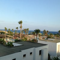 Photo taken at Adams Beach Hotel by Anastasiya Kaplina on 7/17/2013