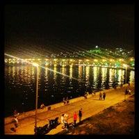 Photo taken at Güzelyalı Sahili by Cansu K. on 6/25/2013
