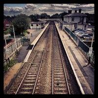 Photo taken at Flint Railway Station (FLN) by Tas W. on 6/2/2013