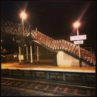 Photo taken at Flint Railway Station (FLN) by Tas W. on 2/27/2013