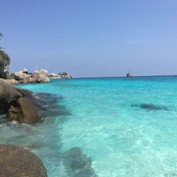 Photo taken at Similan Islands by Beam N. on 4/10/2016