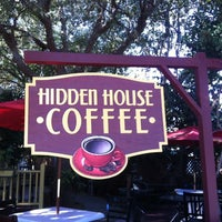 Photo taken at Hidden House Coffee by Brittany P. on 11/24/2012