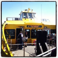 Photo taken at New York Water Taxi Randall's Island by Nick M. on 5/12/2013