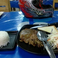 Photo taken at QJ Steak   Panasin 24/1 by Nattapong L. on 3/4/2013