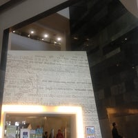 Photo taken at Perpustakaan Universitas Indonesia - Crystal of Knowledge by mellino on 10/6/2012