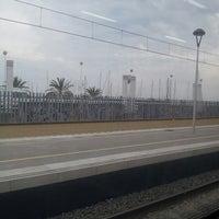 Photo taken at RENFE El Masnou by Marielex C. on 3/23/2013