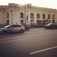 Photo taken at metro Gostiny Dvor by Irisha B. on 10/14/2012