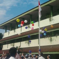 Photo taken at SMAN 26 Jakarta by Fitriani 'Tria' D. on 11/27/2012