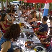"Photo taken at Bar Restaurant Montsia Mar ""Ca la Flora"" by Manel R. on 8/4/2013"