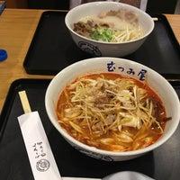 Photo taken at Ramen Planet Mutsumiya (むつみ屋) by Linzy on 3/2/2013