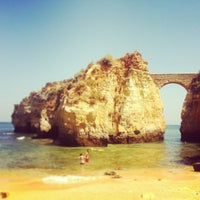 Photo taken at Praia da Batata by Peter S. on 7/19/2013