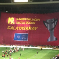 Photo taken at Galatasaray Store by Zuhal on 5/5/2013