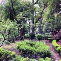 Photo taken at Parque México by Gerardo on 6/26/2013