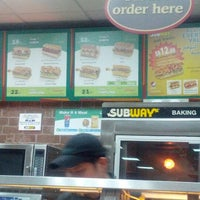 Photo taken at Subway by Shayma A. on 2/16/2013