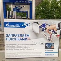 Photo taken at Газпромнефть АЗС № 21 by Ekaterina G. on 5/23/2014