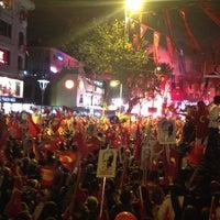 Photo taken at Bağdat Avenue by Ayse Nur G. on 10/29/2012
