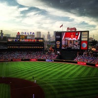 Photo taken at Turner Field by Aaron on 7/12/2013
