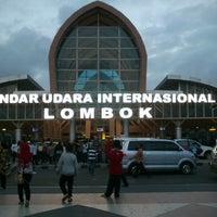 Photo taken at Lombok International Airport (LOP) by Sendy K. on 9/29/2012