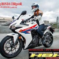 Photo taken at Huntington Beach Honda Motorcycles by Huntington H. on 3/28/2013