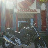 Photo taken at Huntington Beach Honda Motorcycles by Huntington H. on 4/17/2013